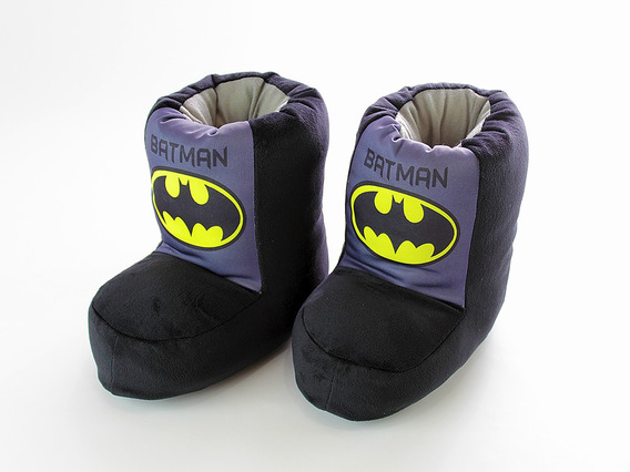 Pantuflas Botita Batman Infantil Envio Gratis