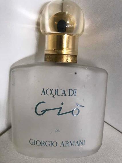 Perfume Vazio Giò/giorgio Armani-50 Ml- Vidro Fosco