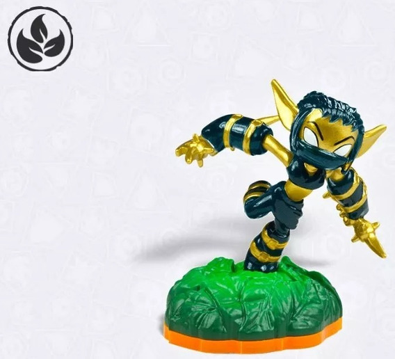 Boneco Skylanders Giants Stealth Elf Series 2