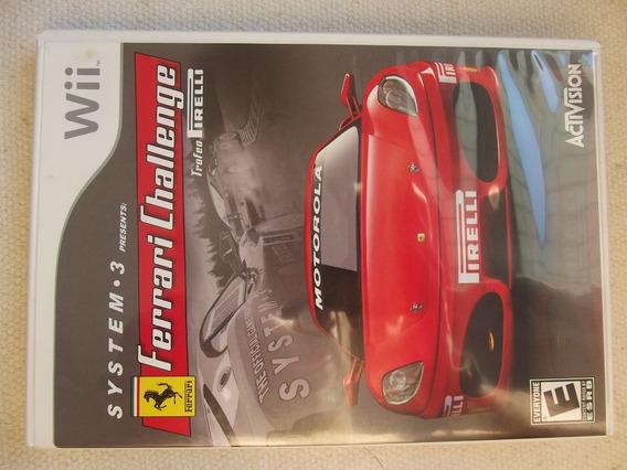Ferrari Challenge ¬ Original Americano Para Nintendo Wii