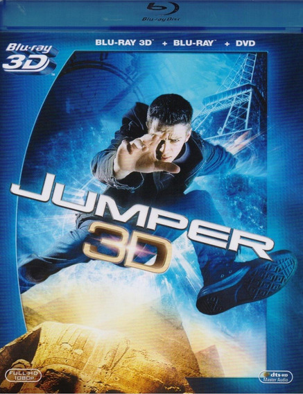 Jumper Kristen Stewart Pelicula Blu-ray 3d + Blu-ray + Dvd