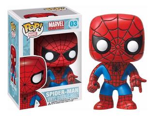 Spiderman Muñeco Funko Pop # 03 * Local Balvanera