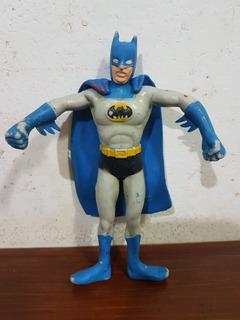 Muñeco Batman De Goma D.c. Comics Del