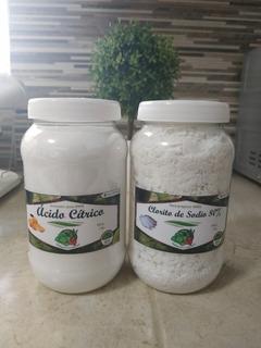 Clorito De Sodio 1 Kg Y Ácido Cítrico 1 Kg - Para Mms