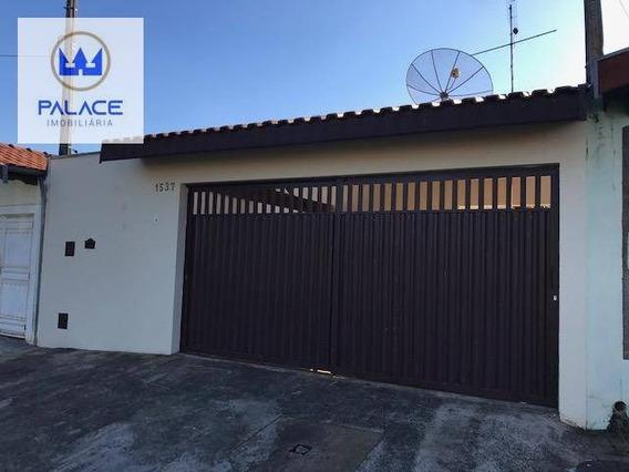 Casa Com 2 Dormitórios Para Alugar, 100 M² Por R$ 950,00/mês - Loteamento Santa Rosa - Piracicaba/sp - Ca0415