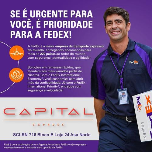 Capital Express É Agente Autorizado De Envios Fedex  (df)