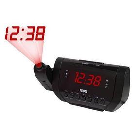 Rádio Relógio Fm Com Projetor Alarme Led