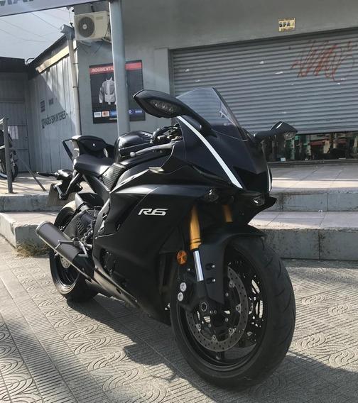 Yamaha R6 Usada 2018 Impecable Estado En Marelli Sports