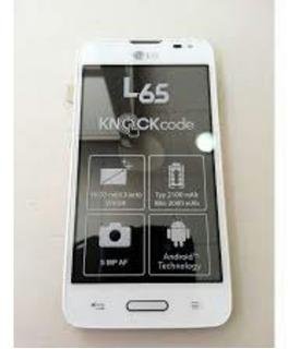 Lg L65 Color Blanco Funda, 2 Cargadores, Audifonos Y Sd 2 Gb