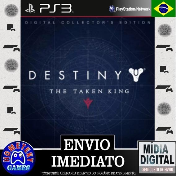 Destiny The Taken King - Edição De Colecionador Psn Ps3