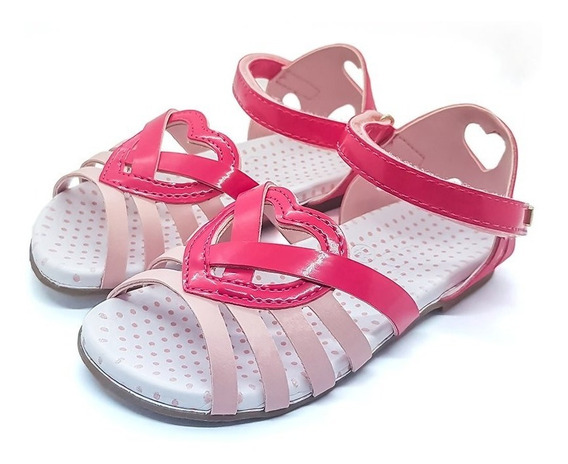 Sandalha Baby Birk Iii Pink Sweet Bibi 958091