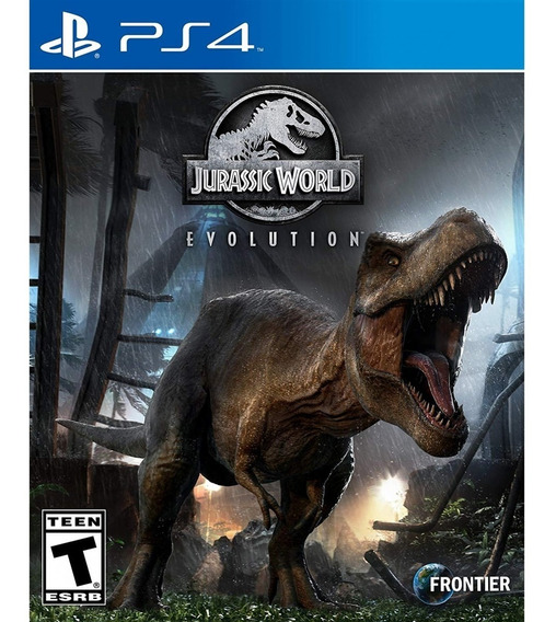 Jurassic World Evolution - Ps4 Lacrado