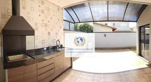 Casa Com 3 Dormitórios À Venda, 180 M² Por R$ 1.100.000,00 - Nova Veneza - Paulínia/sp - Ca1377