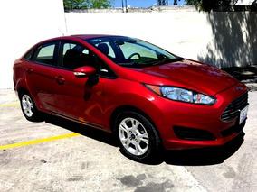Fiesta Se Automatico Sedan 4 Pts 2015 Un Dueño