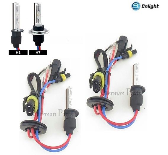 Lâmpadas Xenon H1 H7 Cnlight 35w 6000 4300k Hid Reposição K2