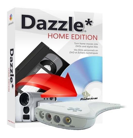 Placa Captura De Video Pinnacle Dazzle Dvd Rec Usb Vhs Games
