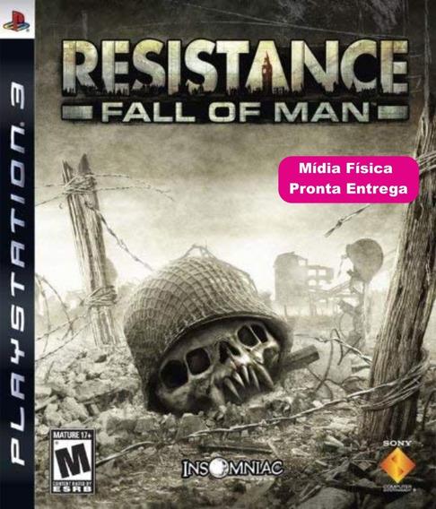 Resistance Fall Of Man - Ps3 Mídia Física - Envio Rápido.