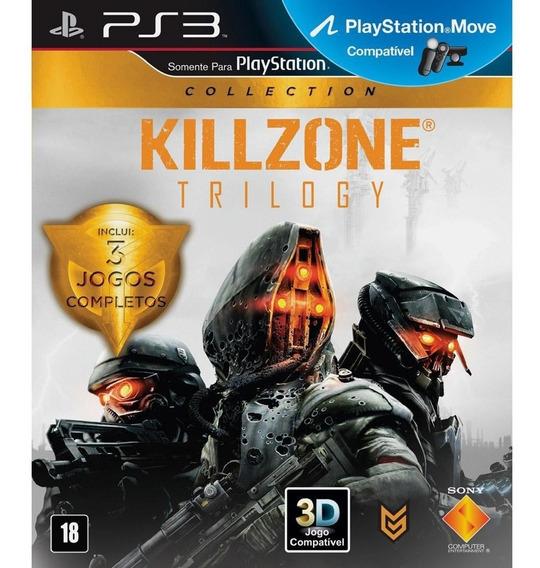 Killzone Trilogy Ps3 Mídia Física Seminovo A Pronta Entrega