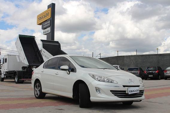 Peugeot 408 Sedan Allure Ano 2015 Branco Baixa Km Periciado
