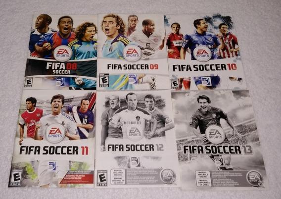 Kit Com 06 Manual Do Game Fifa Soccer Para Ps3 *** Leia