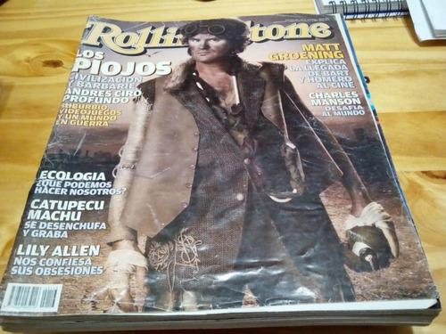 Revista Rolling Stone #113 - Los Piojos - Simpson - U