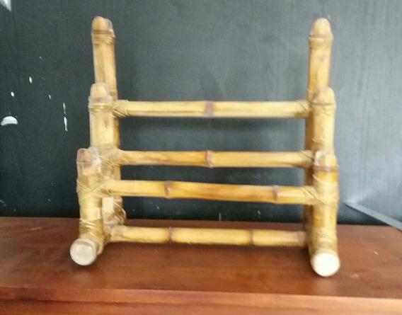 Suporte Espadas De Bambu