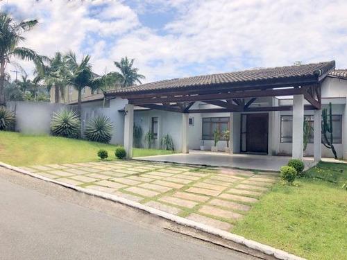 Casa Com 5 Dormitórios À Venda Por R$ 1.800.000,00 - Jardim Passárgada I - Cotia/sp - Ca2584