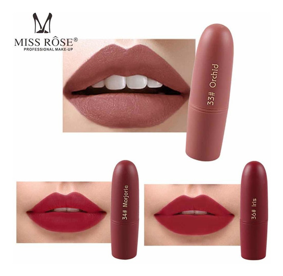 Labiales Matte Miss Rose