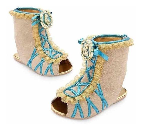 Sapato Princesa Pocahontas Disney Store Novo, Importado Usa!