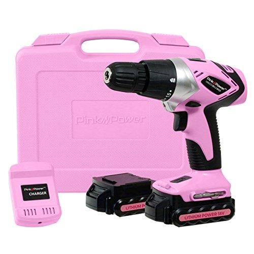 Pink Power Pp182li 18 Voltios De Litio-ion Cordless Electric