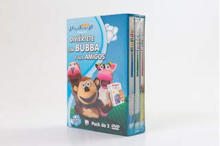 Pack 3 Dvds Bubba Descubriendo Juegoteando Didacticos