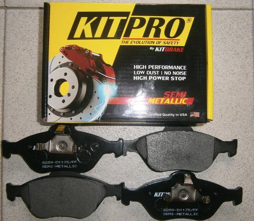Pastillas De Freno Delanteras Ford Ecosport 04 A 06 Kit Pro