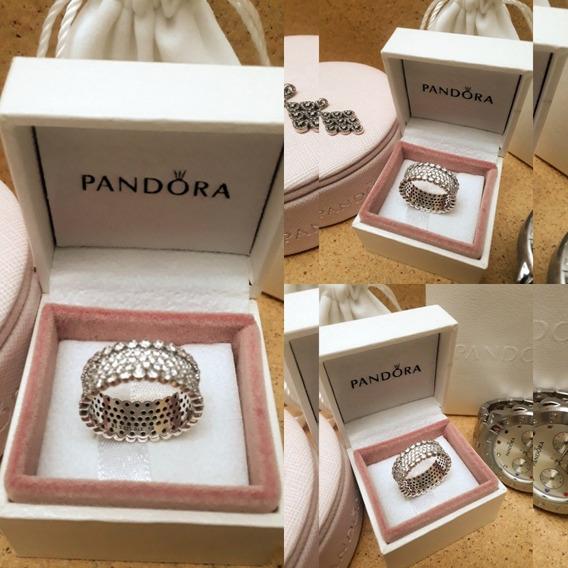 Anel Pandora Brilho Generoso 54/14 Novo Na Caixa Original!