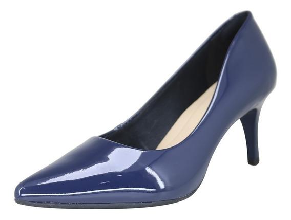 Sapato Social Feminino Firezzi Confortavel Salto Baixo