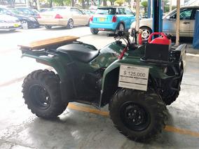Cuatrimoto Yamaha Grizzly 350 4x4 Verde 2014