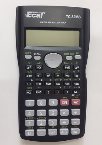 Calculadora Científica Ecal Tc 82