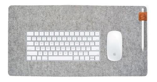 Pad Mouse Largo Detalles En Cuero Diseño O Gamer Desk