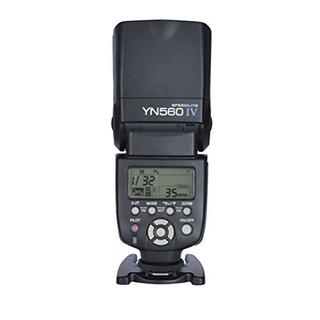 Yongnuo Flash Speedlite Yn560 Iv Con Material Modo De Radio