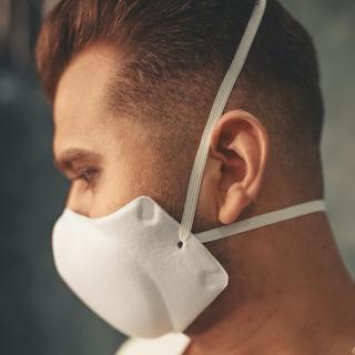 3 Mascaras Elástico Na Cabeça Conforto Para Dia Todo Lavável