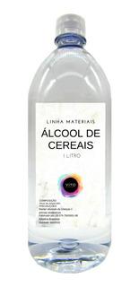 Álcool De Cereais Puro - 1 Litro Frete Barato