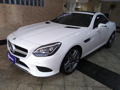 Mercedes Benz Slc 300 2.0 Cgi 9g-tronic 2018 Branca Com Inte