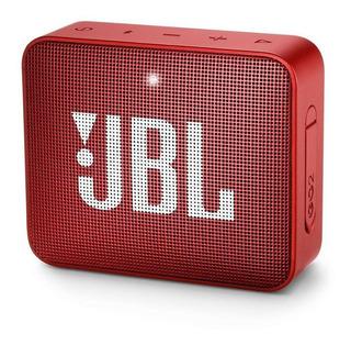 Parlante Portable Jbl Go2 Bluetooth Rojo Resistente Al Agua