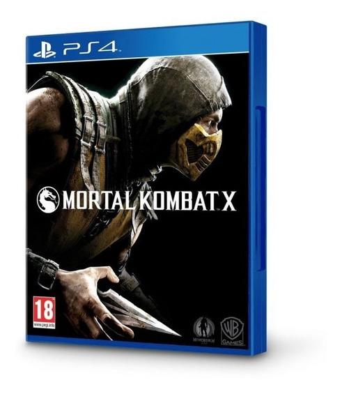 Mortal Kombat X Ps4 Disco Fisico Lacrado Dublado Luta Envio Imediato