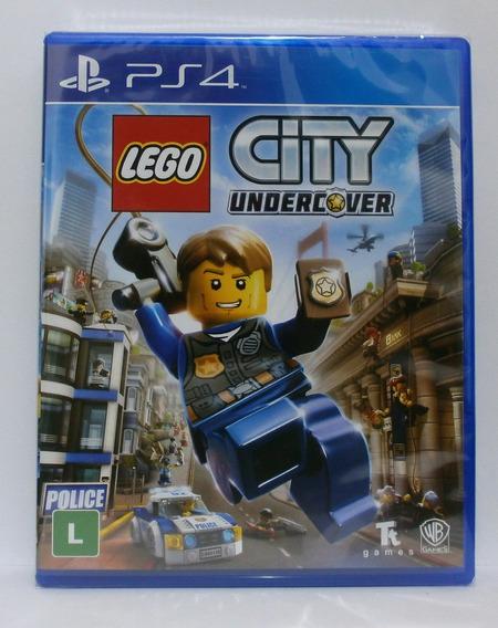 Lego City Undercover Jogo Ps4 Midia Fisica Novo Lacrado