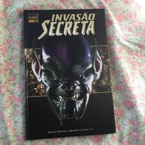 Quadrinho Invasão Secreta Marvel Deluxe