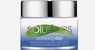 Avon Solutions Banishing Crema Facial Aclaradora Set X 2