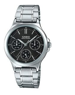 Reloj Casio Mtp-v300d Acero Hombre Wr Agente Oficial