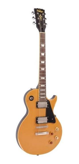 Guitarra Les Paul Vintage Icon Séries V100mr - Jbm (gold To