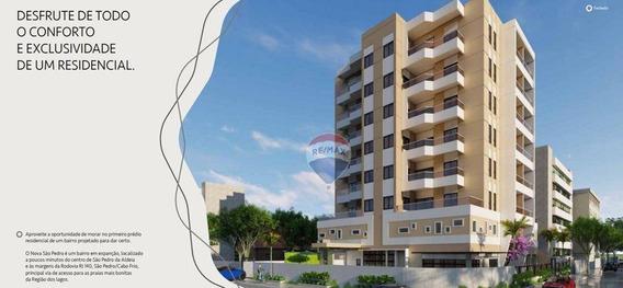 Apartamento Com 2 Suítes À Venda, 83 M² A Partir De R$ 312.809 - Centro - São Pedro Da Aldeia/rj - Ap0444