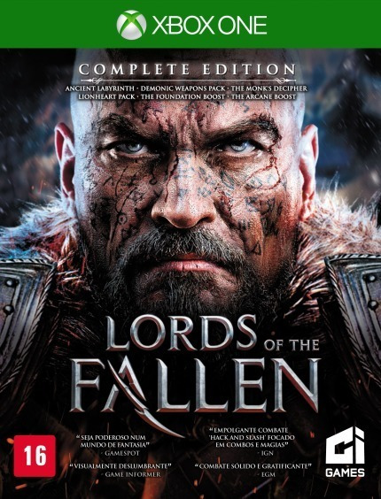 Lords Of The Fallen Complete Edition - Xbox One - Lacrado